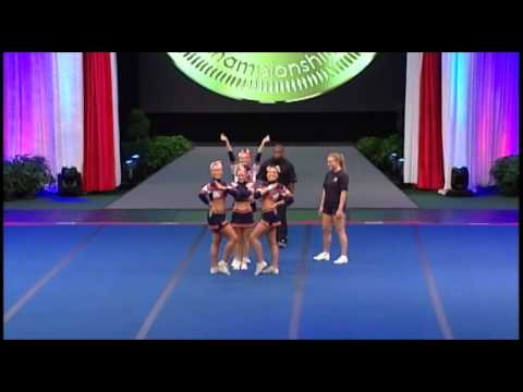 Team Norway All Girl Group Stunt 2012