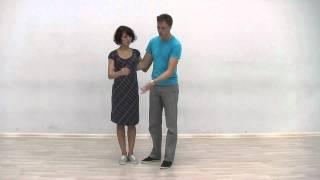 Видео-уроки Буги-вуги (Boogie-woogie). Beginners. Lesson 2. Closed position (eng subs).