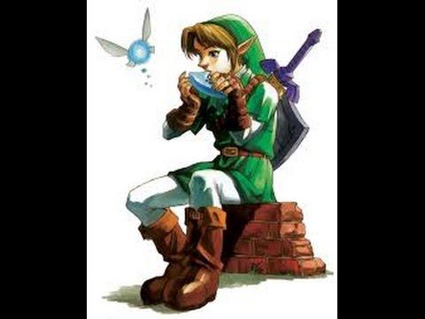 Tuto//Zelda ocarina of time{le chant du soleil}