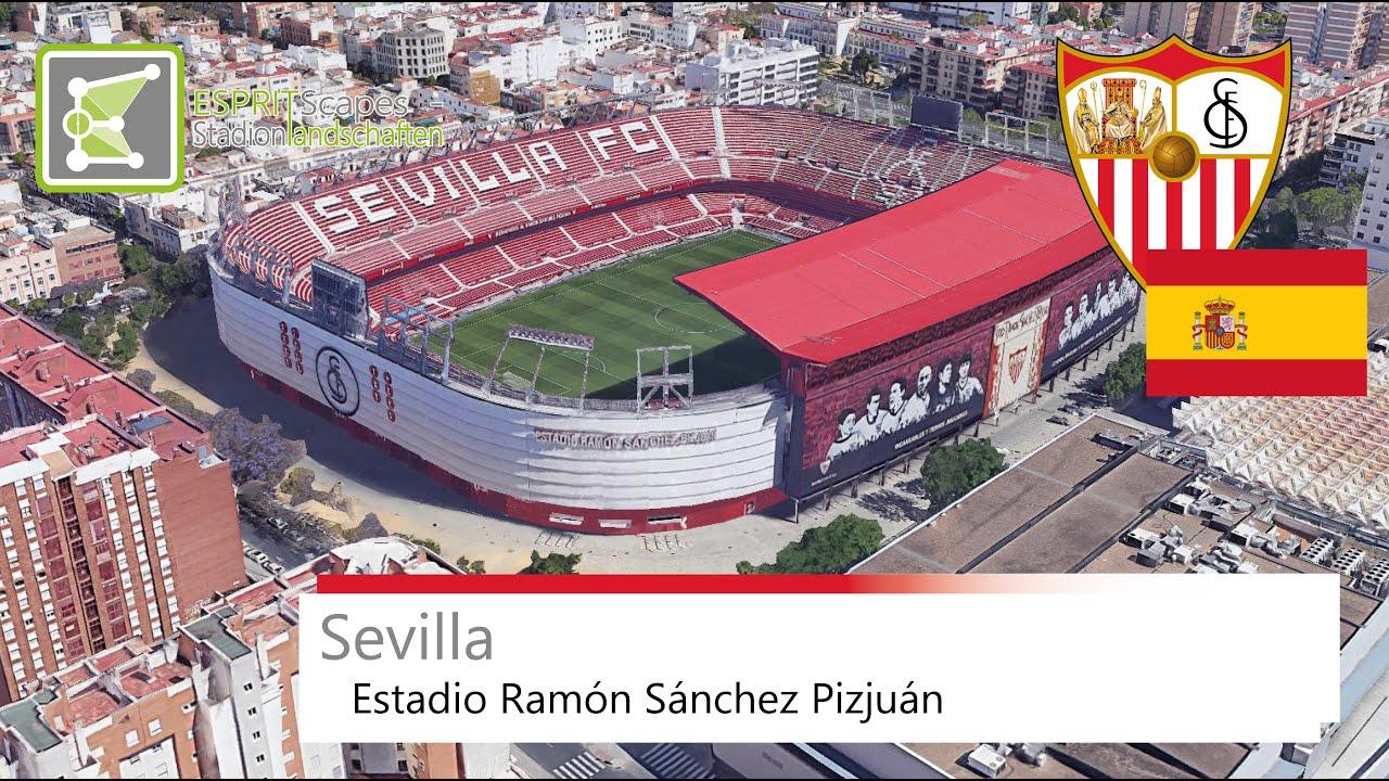 Sevilla Fc Stadium Estadio Ramon Sanchez Pizjuan