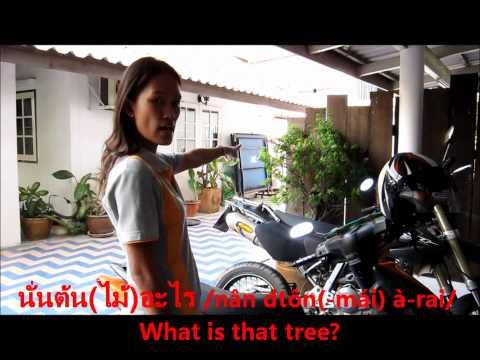 Learn Thai Word | This, That, That (further Away) + อะไร /à-rai/