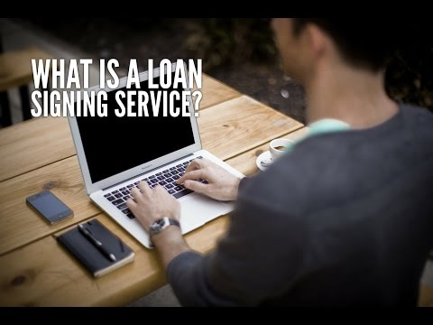 What is a Signing Service and Notary Public Loan Signing Agent Database? Training Video