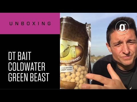 CARPologyTV - DT Bait Coldwater Green Beast Unboxing Review