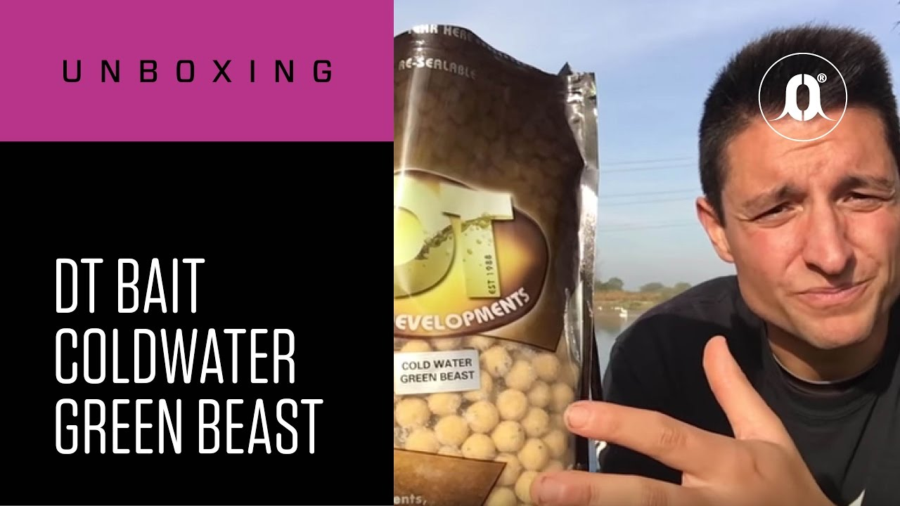 DT Baits Cold Water Green Beast boilie base mix