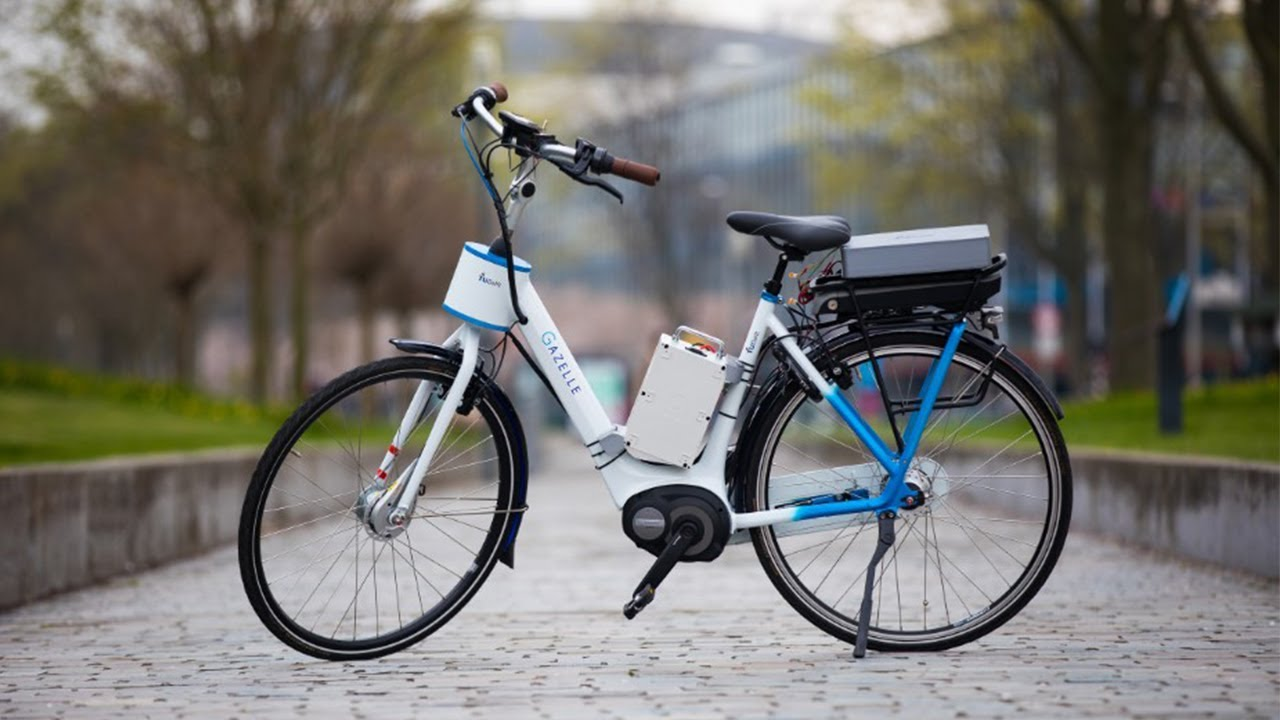 Tu Delft Smart Motor In Handlebars Prevents Bicycles From Falling Over