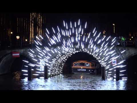 Amsterdam Light Festival 2017 Water Colors