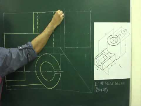 Sectional orthographic 1