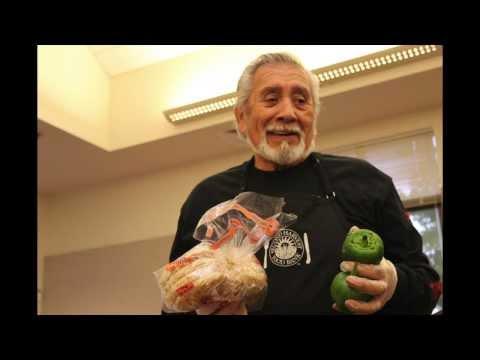 Senior volunteers help local food program