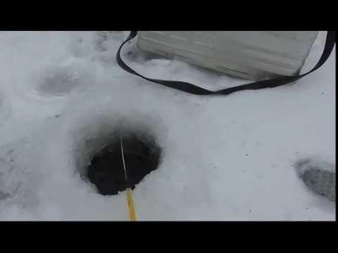 Зимняя рыбалка. Голавль.Чувашия