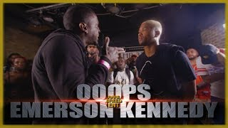OOOPS VS EMERSON KENNEDY RAP BATTLE - RBE