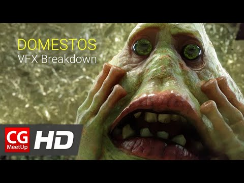 "CGI VFX Breakdown ""Domestos VFX Breakdown"" by Outpost VFX Studio 