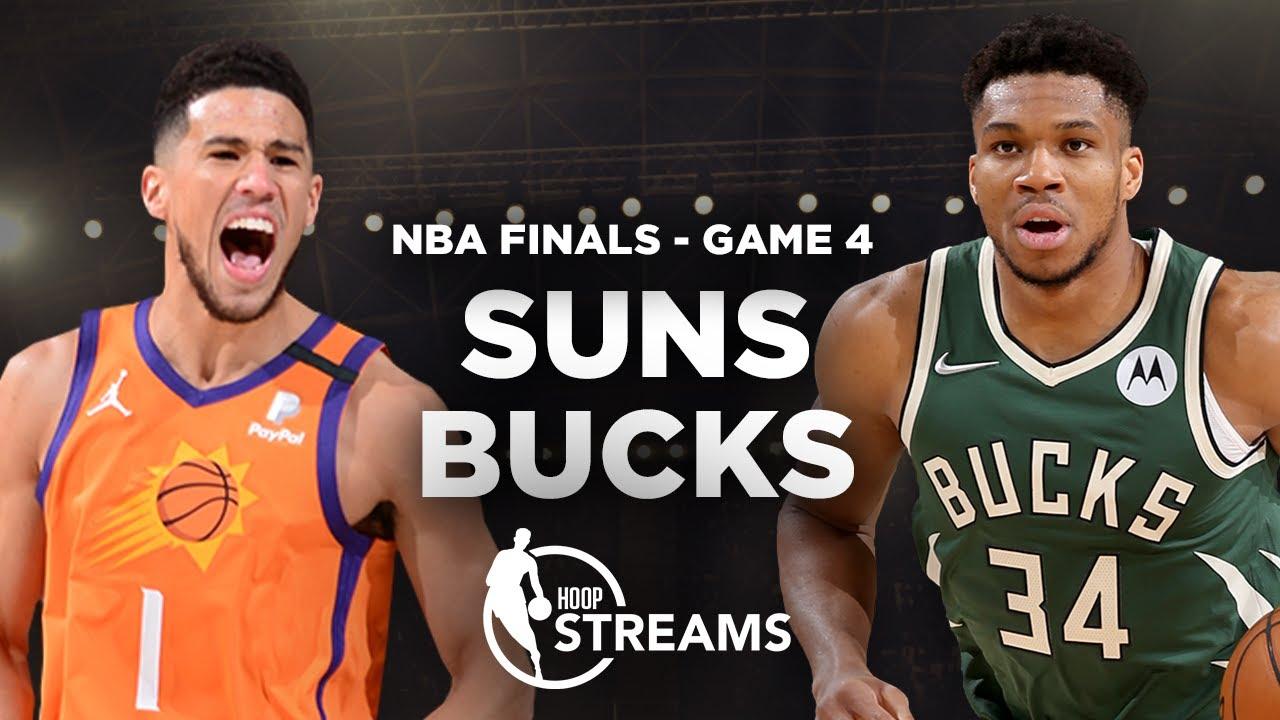 Bucks look to even series at 2-2 vs. Suns | NBA Finals Preview | Hoop Streams