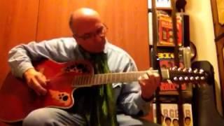 Dandelion Rolling Stones acoustic guitar cover