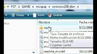 EMULADOR NEOGEO PARA CUALQUIER PSP PARTE 1