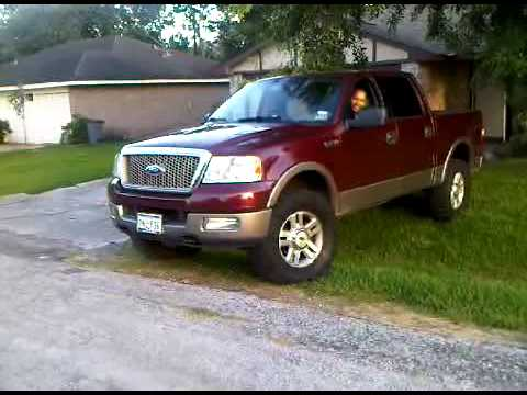05 F150 4x4 Leveling Kit 35 Quot Nitto Mud Grapplers Lariat P