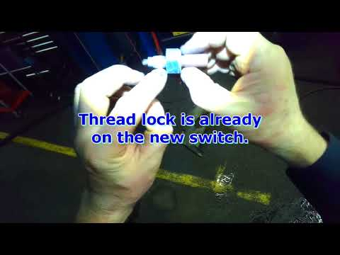 VW A4: Reverse light switch replacement (Std Tranny)
