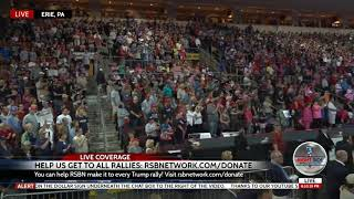 🚨INCREDIBLE! Trump Packs the House in Erie, PA + OVERFLOW Crowd Outside!