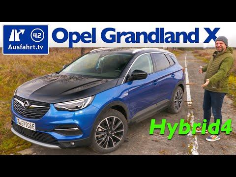 2020 Grandland X Hybrid4 Ultimate  - Kaufberatung, Test deutsch, Review, Fahrbericht Ausfahrt.tv