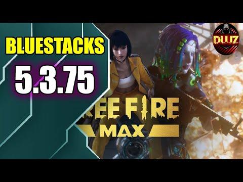 FREE FIRE MAX SEM ACELERAÇÃO BLUESTACKS 5.3.75