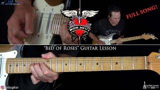 Bed of Roses Guitar Lesson - Bon Jovi
