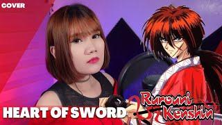 [COVER + LYRICS] Rurouni Kenshinるろうに剣心 ED 3 - HEART OF SWORD / T.M.Revolution Cover by Ann Sandig
