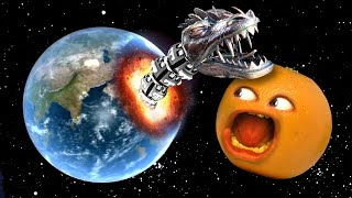 I destroyed Earth with a GIANT SPACE WORM! | Solar Smash
