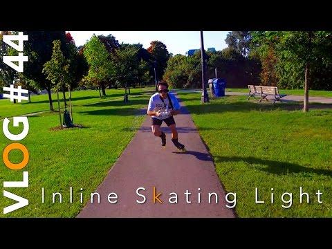 Inline Skating Light Practice  -Bill Stoppard