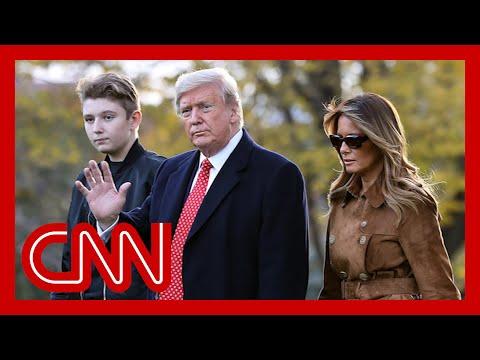 Melania Trump fires back after professor mentions son