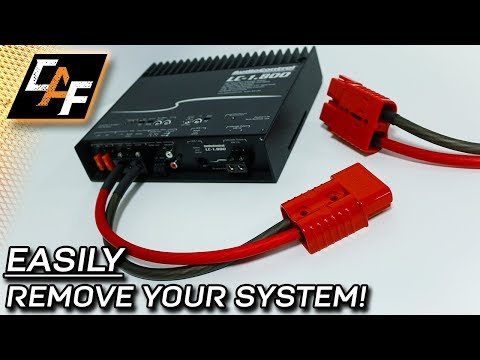 Quick Disconnect your Amplifier! Battery Harness Plug Review