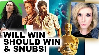 Oscars 2018 Nominations, Predictions & Snubs