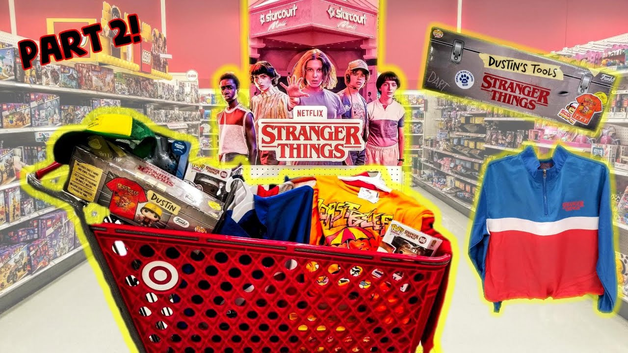 Buying Stranger Things 3 Toys And More At Target Part 2 Close Up Of Each Stranger Things Toy Hunt Youtube