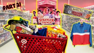Buying Stranger Things 3 Toys And More At Target Part 2! Close Up Of Each! Stranger Things Toy Hunt!