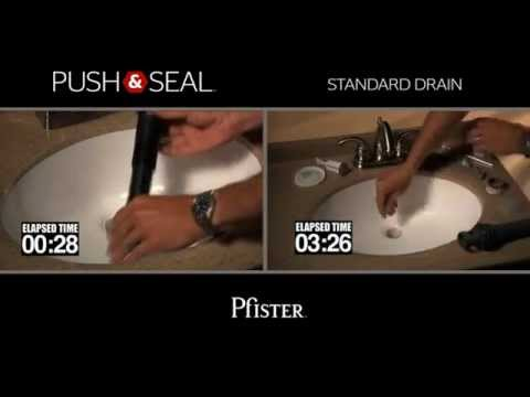 Push & Seal from Pfister