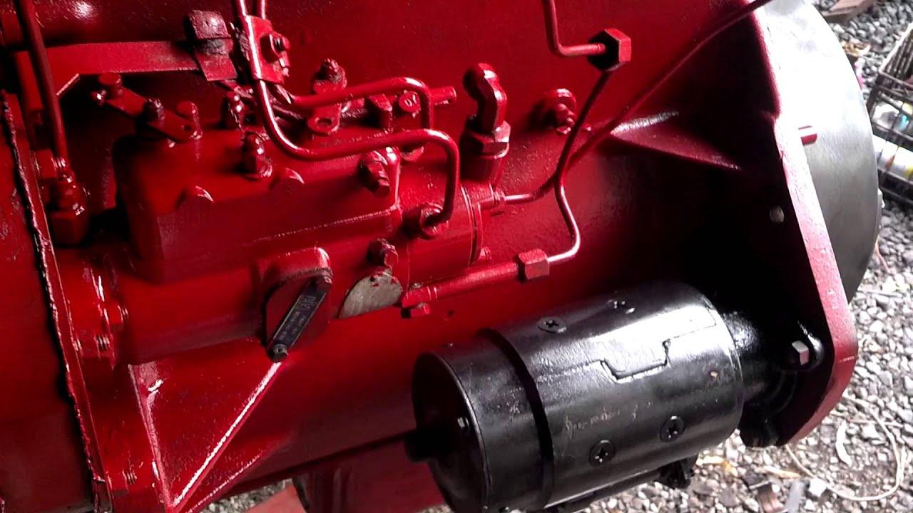 international harvester diesel engine rebuild youtube rh youtube com 454 Big Block Diagram Chevy 454 Firing Order Diagram