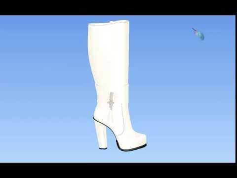 11fceb52f22bda Відео файли 3D моделей - San Sanich shoes