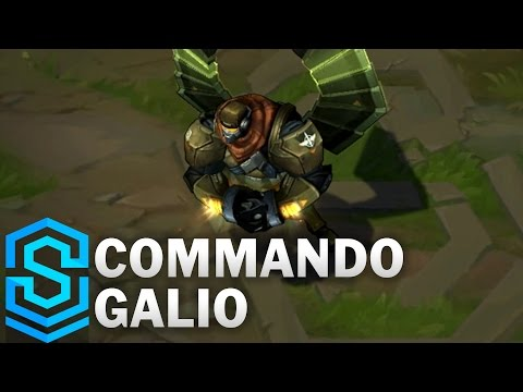 Commando Galio (2017) Skin Spotlight - League of Legends
