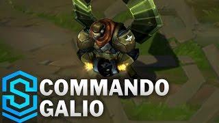 Commando Galio (2017) Skin Spotlight - League of Legends