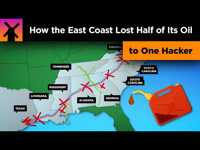 How the US East Coast Lost Half It's Oil to 1 Hacker