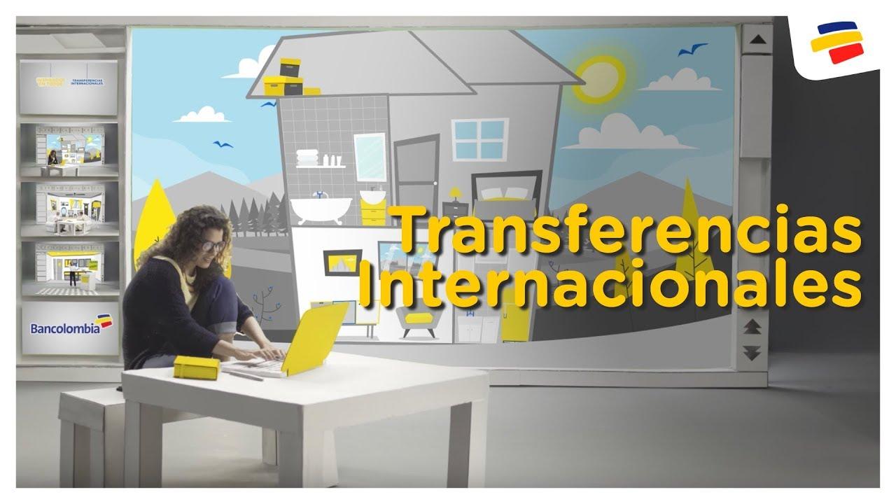 Transferencias Internacionales Inspirados En Todos Bancolombia