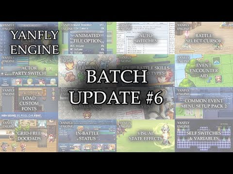 Yanfly Engine Plugins - Batch Update #6 - RPG Maker MV - Музыка для Машины