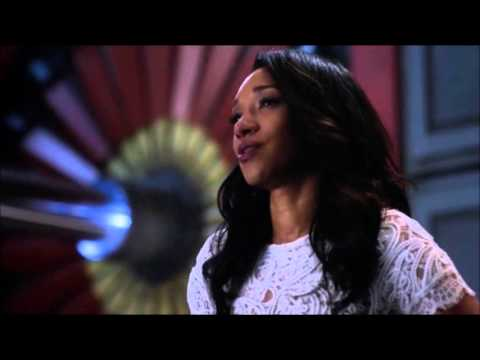 The Flash 2x20   Iris confesses her feelings for Barry