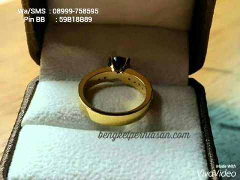 Cincin Nikah Emas 24 Karat, 08999 758595 (WA)