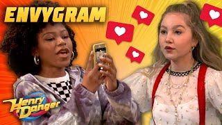 They Broke The Influencer Picture Wall! 'EnvyGram Wall' | Henry Danger