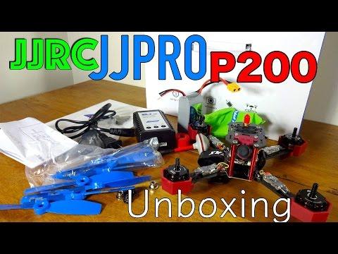 JJRC JJPRO P200 Unboxing and Parts Overview!
