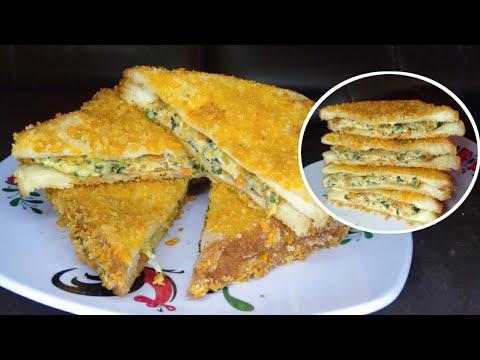 Download Roti Goreng Kroket Isian Telur Sayur // Jajanan Enak Ala Korea Yang Mudah Buat Nya
