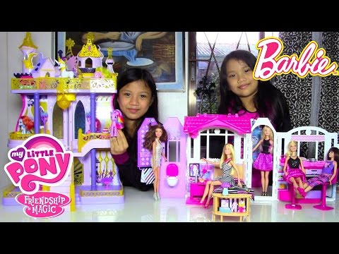 Barbie Doll Glam Getaway House My Little Pony