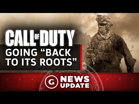 "2017's Call Of Duty Is Going ""Back To Its Roots"" - GS News Update"