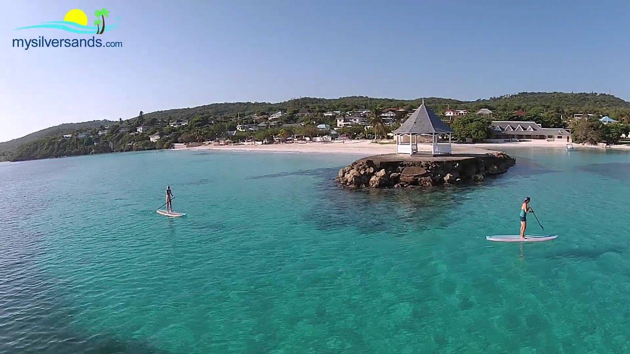 Enjoy Paddleboarding At Silver Sands Jamaica