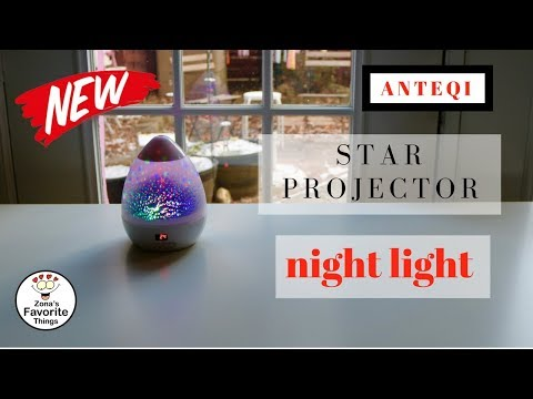 😍  ANTEQI  ❤️    Star Projector Night Light - Review       ✅