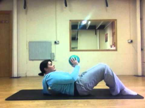 Resolute Pilates Ball Workout